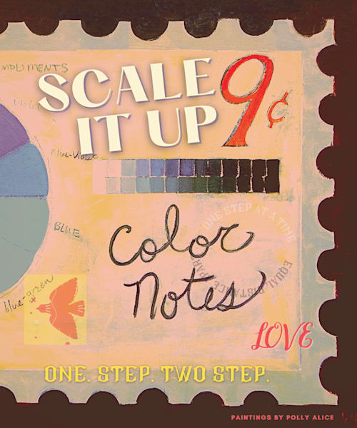 Scale It Up Poster Art | Polly Alice Design