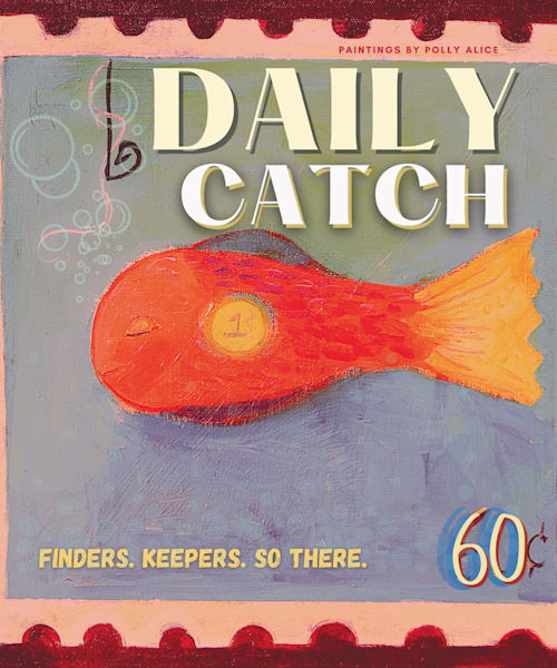 Daily Catch Stamp Art | Polly Alice Design