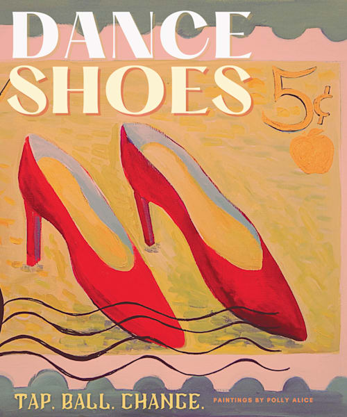 Dance Shoes  Art | Polly Alice Design