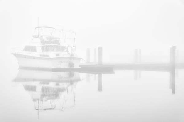Calm - Foggy St. Johns River fine-art photography prints