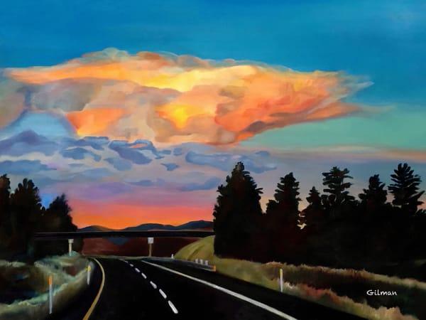 """Road Less Traveled"" Original Artwork by Emily Gilman Beezley"