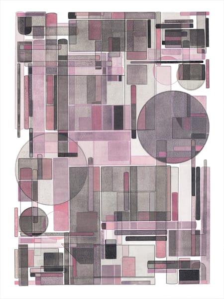 Spring Morning  40 X 30  Multiple Plate Etching (Mono Print) Art | Patrick M. Parise