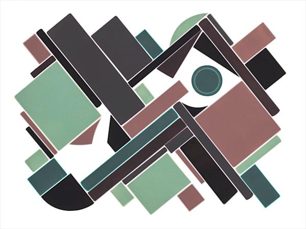 Wonder  30 X 40 Multiple Plate Etching  (Mono Print) Art | Patrick M. Parise