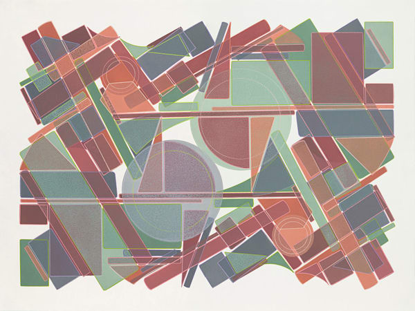 Spring Dance  40 X 30  Etching (Mono Print) Art | Patrick M. Parise