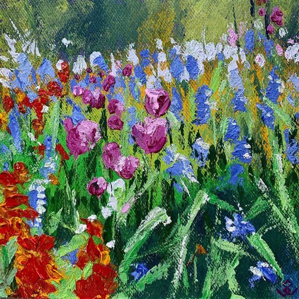 Spring Flowers Art | susanclare