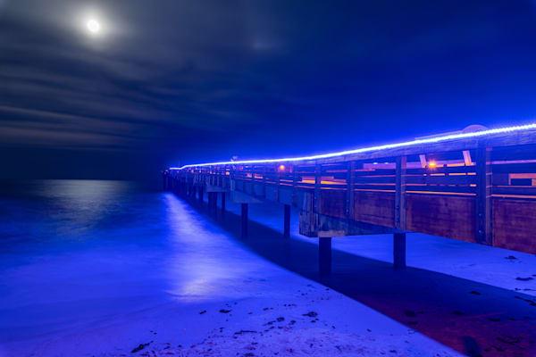 Pier Light Photography Art | kramkranphoto