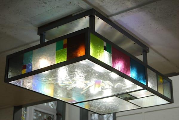 Geometric Light | Ed Pennebaker, Red Fern Glass