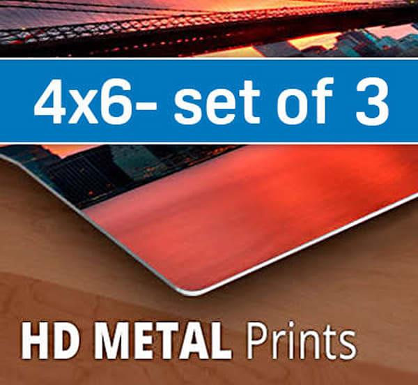 4x6 Hd Metal Sample Pack (Three 4x6s) | Artbeat Studios, Inc