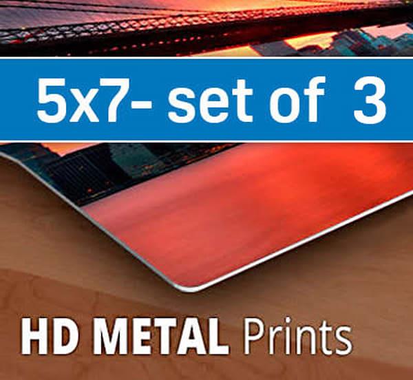 5x7 Hd Metal Sample Pack (Three 5x7's) | Artbeat Studios, Inc