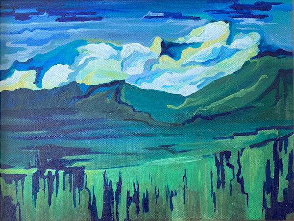 Evolving Landscape No.1 Art | Mina Vancardo