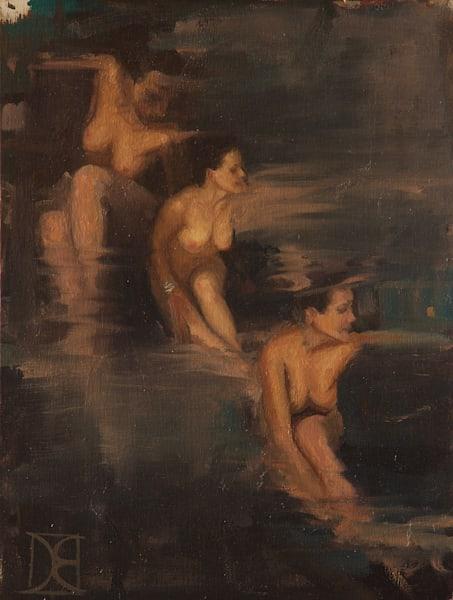 Triple Goddess (Three Fluid Nudes) Art | Artemesia Galerie