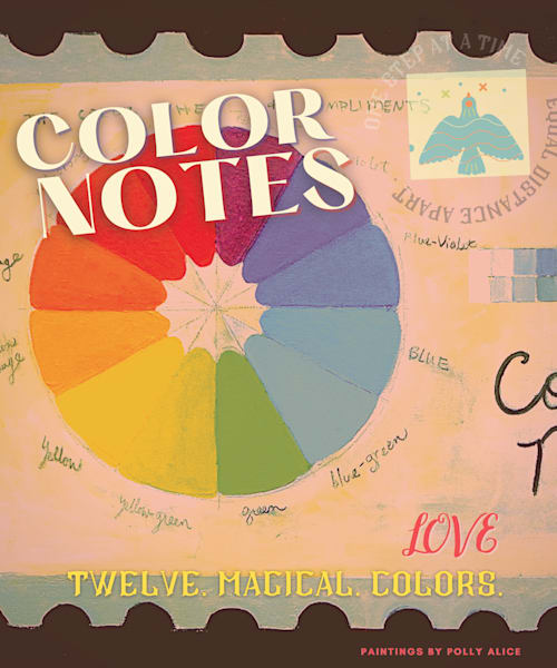 Color Wheel  Art | Polly Alice Design