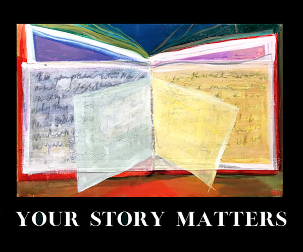 Your Story Matters Art | Polly Alice Design