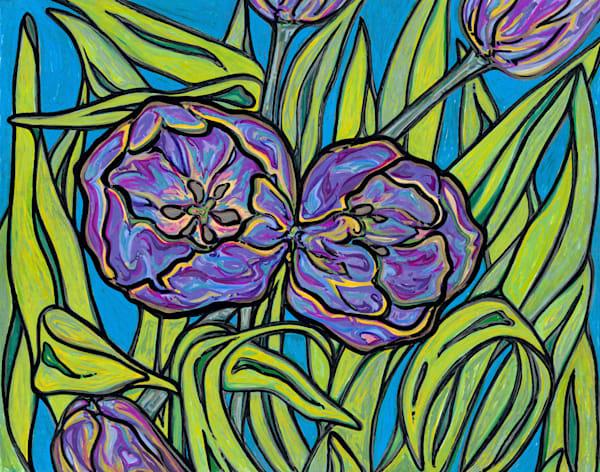 Blithesome Bulbs Art | Kim P. Bartholomew