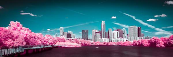 Bat City Day Dream Art Print