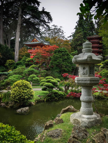 Japanese Tea Garden No.4 Art   Patrick Cosgrove Art and Photography