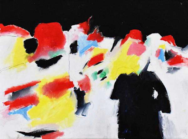 Cool Night With Light Art | eddie hamilton art