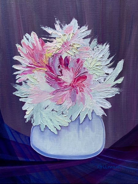 """Peonies"" Original Artwork by Emily Gilman Beezley"
