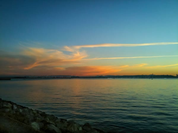 East Bay Sunset Art   Patrick Cosgrove Art and Photography