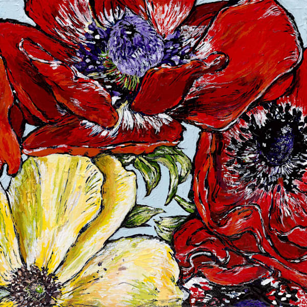 Anemones in Red 2