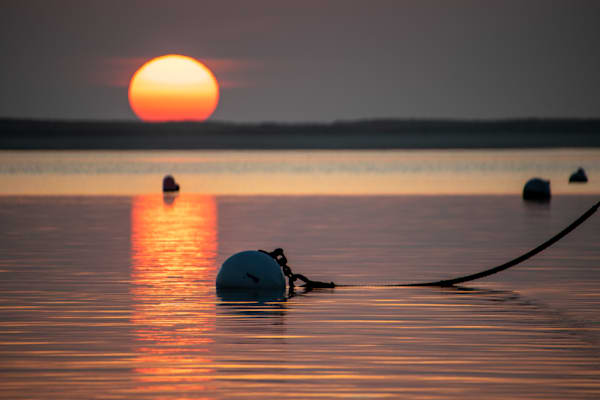 Buoy Sunrise Photography Art | The Colors of Chatham