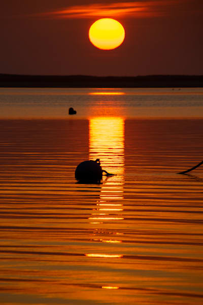Sunrise Reflection Photography Art | The Colors of Chatham