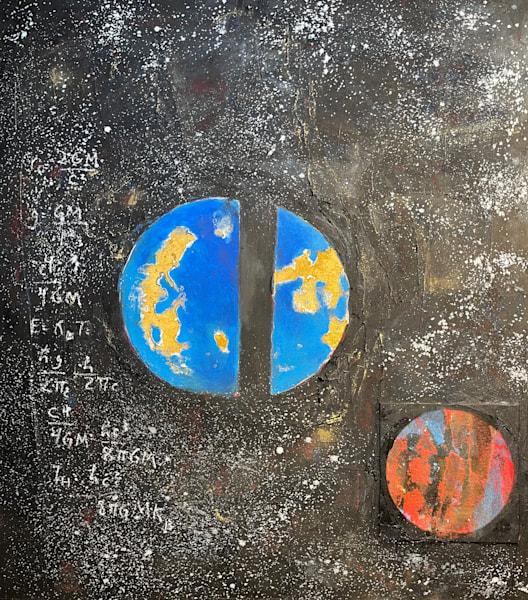 Look Into Space, Look Into Yourself Art | Adam Shaw Gallery