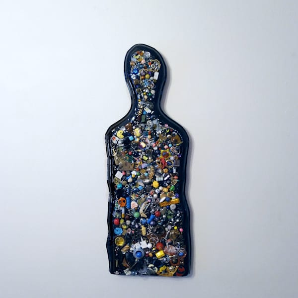 Found Object Portrait No.1 Art | Rick Wedel Art & Design