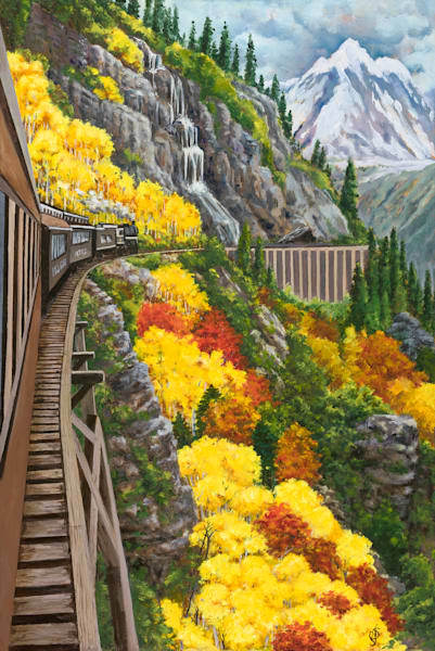 Alpine Journey Art   Roxana Sinex Art