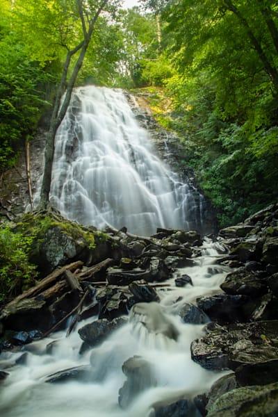 Print of Crabtree Falls in North Carolina