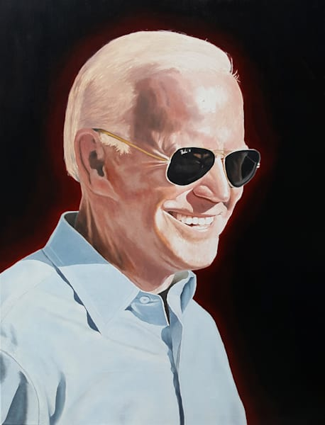 Joe Biden Original Oil Painting   Sold Art | Dave Martsolf Fine Arts