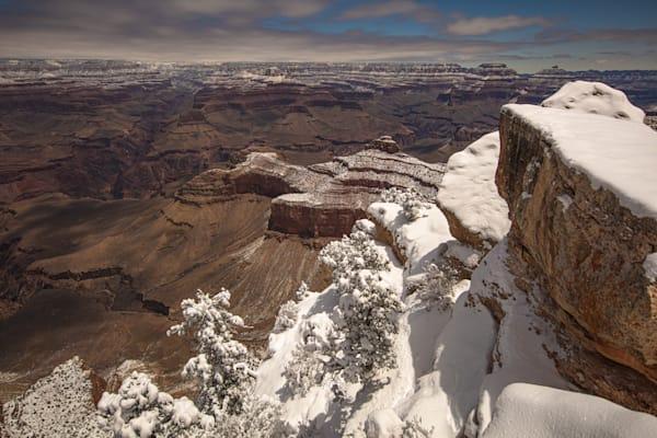 Grand Canyon, snow, night, Arizona, stars, photograph, photo, 20