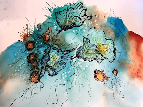 Lumiere Del La Mer Art   Art With Judy Ann