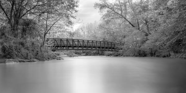 B&W of Cane Creek Bridge - Fletcher, NC Prints