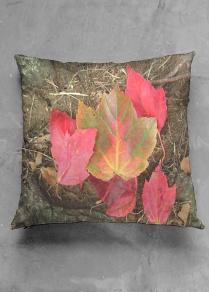 Glories Of Autumn Square Pillow Cover | Lillith