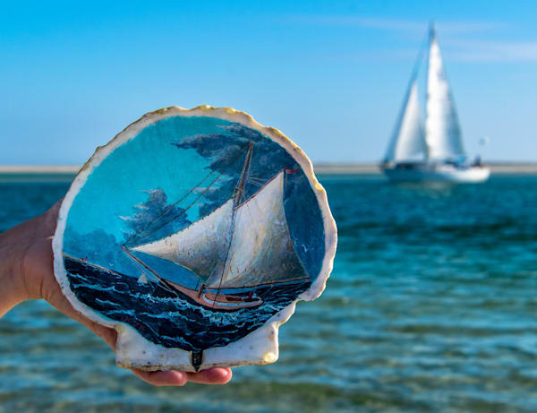 Yachting Off Monomoy Point Photography Art   The Colors of Chatham