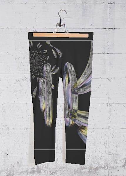 Space Travel Yoga Capri Pants | Lillith