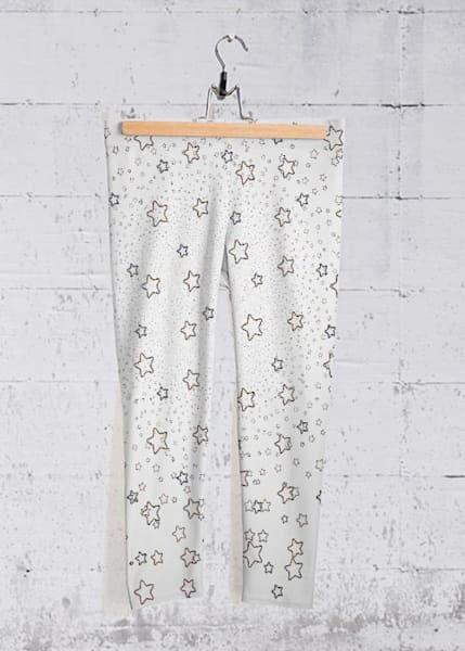 Stars Yoga Capri Pants | Lillith