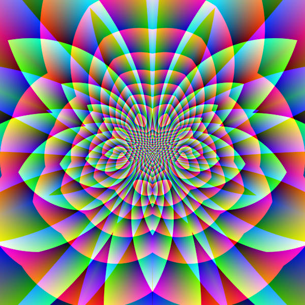 Psychedelic Motion Ii Art | Between Art and Science