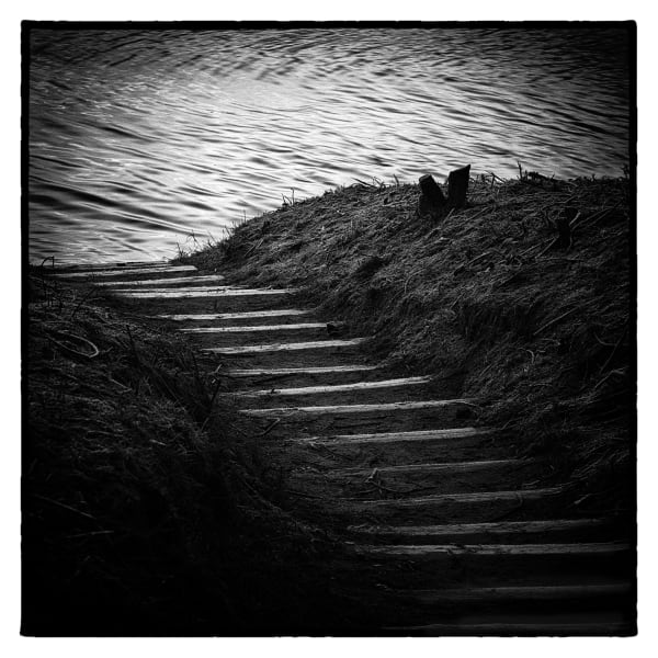 Steps To Poole Harbour Art | Roy Fraser Photographer