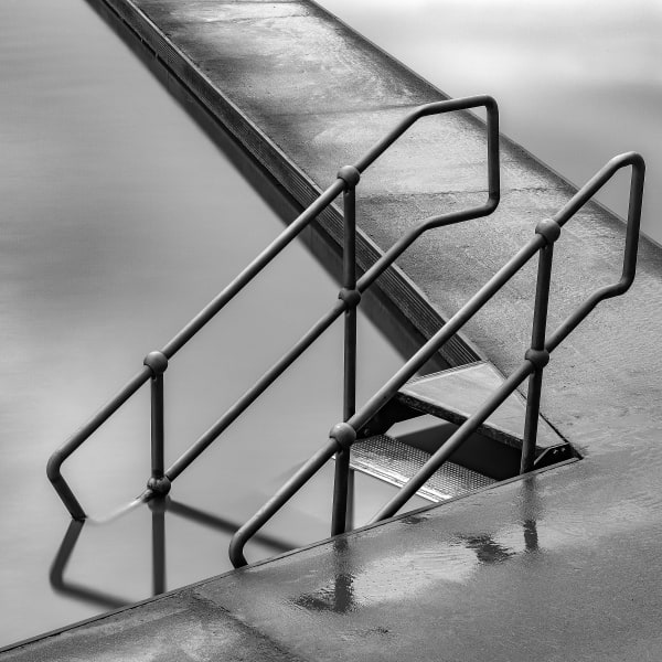 Clevedon Pool Steps Art | Roy Fraser Photographer