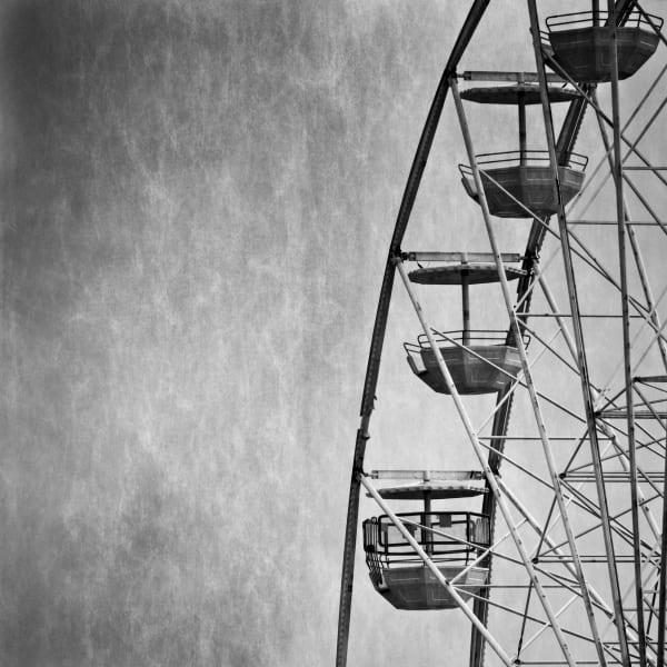 Ferris Wheel At Bournemouth Art | Roy Fraser Photographer