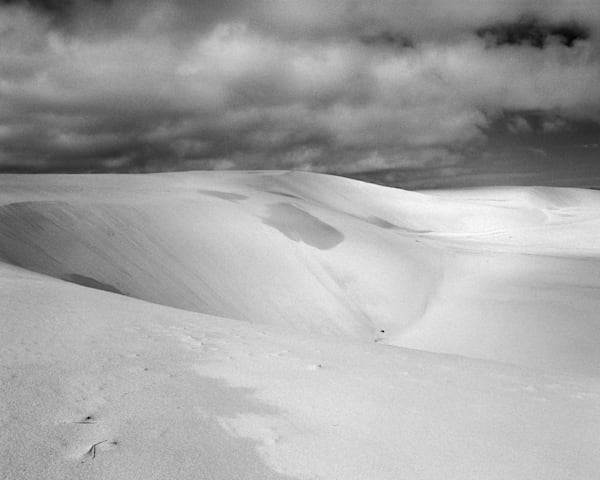 California Landscape Photography - Coastal Sand Dunes with Clouds