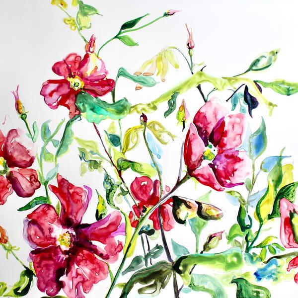 Wild Roses Art | Karen Bishop Artist