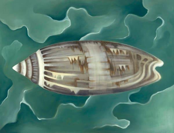 Olive Shell Art | Margaret Biggs Fine Art