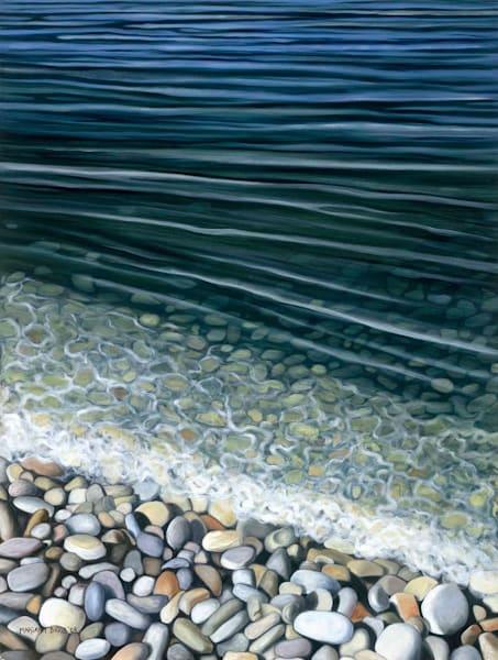 Schoolhouse Beach Art | Margaret Biggs Fine Art