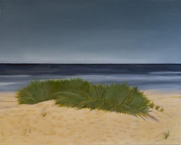 Landscape Painting-Dune Grass
