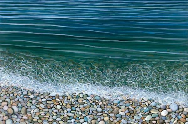 Schoolhouse Beach   Horizontal Art | Margaret Biggs Fine Art