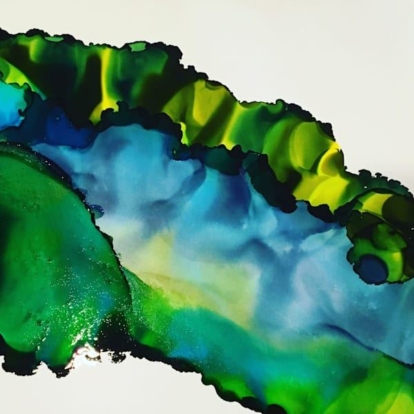 Bending Flora, Original Art | Sandy Smith Gerding Artwork