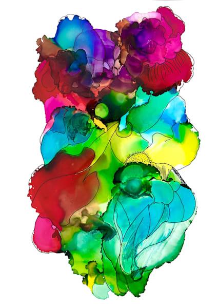 Bouquet 6, Original Art | Sandy Smith Gerding Artwork